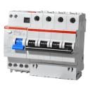 ДИФ автомат ABB DS204 6 модульный C10А 30мА  тип АС