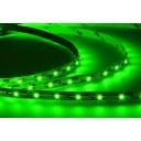 Лента светодиодная (LED) SMD3528-300G-12, зеленый цвет, 4,8Вт/м, IP20
