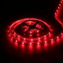 Лента светодиодная (LED) SMD3528-300R-12, красный цвет, 4,8Вт/м, IP20