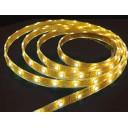 Лента светодиодная (LED) SMD3528-300WW-12, теплый белый цвет, 4,8Вт/м, IP20