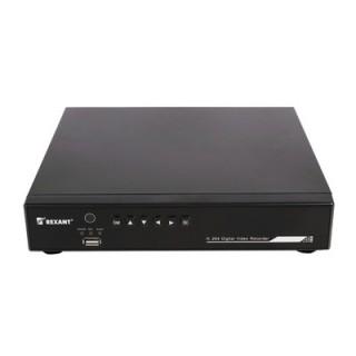 Видеорегистратор 4-х канальный, аналоговый REXANT, без жесткого диска